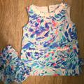 Lilly Pulitzer Matching Sets | Lilly Pulitzer 6 - 12 Month Baby Set | Color: Blue/Pink | Size: 6 - 12 Months
