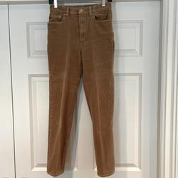 Ralph Lauren Jeans   Ralph Lauren Lauren Jeans Co. Corduroy Jeans   Color: Tan   Size: 4