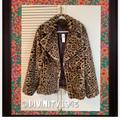 Anthropologie Jackets & Coats   Like Butter Baby Soft Faux Fur Print Jacket   Color: Brown/Tan   Size: 1x