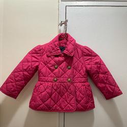 Ralph Lauren Jackets & Coats   Ralph Lauren Pink Quilted Girls Jacket Size 2t   Color: Pink   Size: 2tg