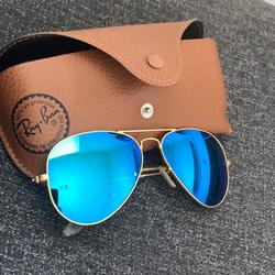 Ray-Ban Accessories   Ray-Ban Ray Ban Gladiator Blue Sunglasses   Color: Blue   Size: Os