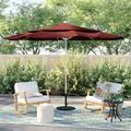 California Umbrella Venture Series 11' Market UmbrellaMetal in Orange, Size 102.0 H x 132.0 W x 132.0 D in   Wayfair ALTO118002-F69-DWV