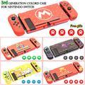 Coque de protection fine pour Console Nintendo Switch 3e génération, étui pour jeu, nouveauté 2021