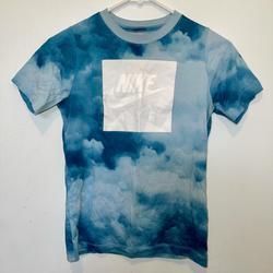 Nike Tops   Nike Blue Tie Dye Tee   Color: Blue   Size: M