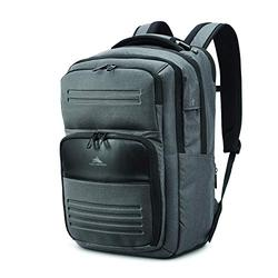 High Sierra Endeavor Elite 2.0 Laptop Backpack, Grey Heather, One Size