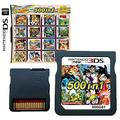 500 in 1 Game Cartridge, DS Game Pack Card Compilations, Super Combo Multicart for DS, NDSL, NDSi, NDSi LL/XL, 3DS, 3DSLL/XL, New 3DS, New 3DS LL/XL, 2DS, New 2DS LL/XL