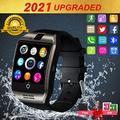 iFuntecky Smart Watch for Android Phones,2021 Smartwatch for Men Women,Smart Watches with Camera Bluetooth Watch Cell Phone with Sim Card Slot Compatible Android Samsung iOS Phone 12 12 Pro 11 10