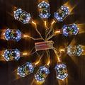 Dan&Dre Night Light -Festival Ramadan Eid Mubarak LED String Lights , Castle Shaped Night Lights , Eid Ramadan Decor Home Islamic Decorative String Lights