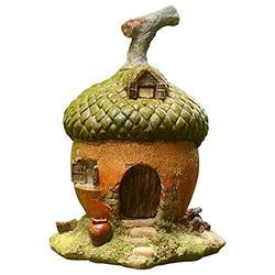 Tlymopukt Fairy Garden, 4.133.945.51inch Mushroom Miniature Fairy House Garden Decor Gnome House Statue Garden Sculptures Statues Yard Art Miniature Fairy Garden House Garden Accessories