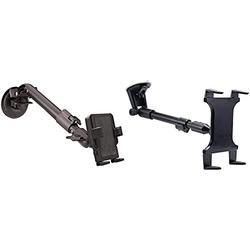 PanaVise PortaGrip Phone Holder with Telescoping Windshield Mount & Arkon Mounts TAB-CM117 Extension Arm Windshield Suction Tablet Mount Retail Black