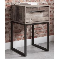 Signature Design by Ashley Furniture Nightstands Butcher - Gray Block Neilsville Nightstand