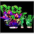 Aquarium Plants-Decorations,Fish Tanks Plants-Decor,Fish Tanks Decorations-Accessories,Artificial Aquarium Plastic Live,7 Pack Artificia Aquatic Plants,Aquarium Landscape Vividly.