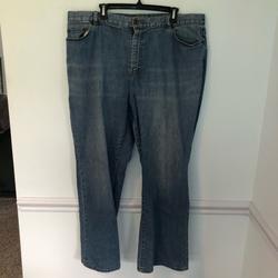 Ralph Lauren Jeans   Ralph Lauren Lauren Jean Co. Premium Denim Jeans   Color: Blue   Size: 20w