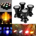 LAMPES À LED SOUS-MARINES Lampe Étanche Rvb Sous-Marin Étang Lampe Pour Piscine Fontaines D'eau
