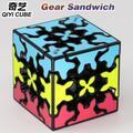 QiYi – Cube magique XMD 3x3x3, 3x3, Sandwich, 3x3 couleurs, sans autocollant, professionnel Twist
