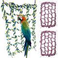 Filet d'escalade pour oiseaux de compagnie, balançoire, hamac, perche, jouets, Cage, corde de