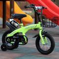 Vélo à deux roues multicolore pour enfants de 2 à 8 ans, 12/14/16/18 pouces, pour garçons et filles
