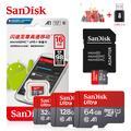 SanDisk – Micro carte mémoire SD Ultra TF d'origine pour téléphone, mini flash de capacité de 128,