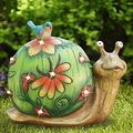 Garden Sculptures & Statues,Garden Animal Statues,Lawn Ornaments Animals,Outdoor Sculptures Statue, Patio Lawn Yard Statues Art Ornaments (A) (Style : A)