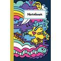 Notebook, Bookworm kids Writing book journal: boys and girls writing notebook