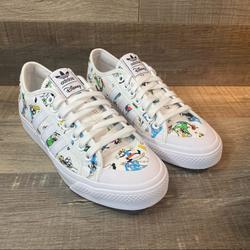 Adidas Shoes   Disney X Adidas Nizza Sport Goofy Pack - White   Color: White   Size: 8