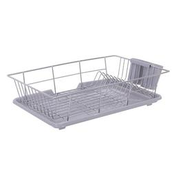 ihometea Drip Tray Stainless Steel in Gray, Size 4.9 H x 19.5 W x 12.8 D in   Wayfair I01XSS90326481