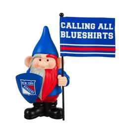 Evergreen Enterprises, Inc Montreal Canadiens, Flag Holder Gnome-NHL Resin/Plastic in Blue/Red, Size 10.0 H x 4.5 W x 6.1 D in   Wayfair 544368FHG