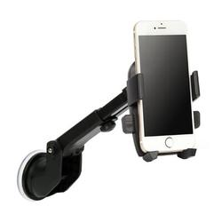 lohomeus Suction Cup Mount Holder Car Windshield Stand For Mobile Cell Phone GPS Iphone Samsung 360 Rotation in Black   Wayfair P357