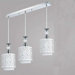 House of Hampton® 3 Head Modern Ceiling Light Hanging Pendant Lamp Dining Room Chandelier Fixture Ceiling Light Flower Petal LED Pendant Lamp Chandelier Adjustable For Metal