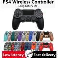 Manette de jeu sans fil Bluetooth Dualshock 4 pour Playstation 4 et PS3, contrôleur, Joystick