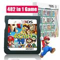 428 in 1 Game Cartridge Multicart,DS Game Pack Card Compilations, Fine Works Combo Multicart for Ninte-ndo DS, NDSL, NDSi, NDSi LL/XL, 3DS, 3DSLL/XL, New 3DS, New 3DS LL/XL, 2DS, New 2DS LL/XL
