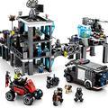 MCJL Police car Assembling 3D Building Blocks,Children Inserting Building Blocks SWAT Headquarters Building Block Kit Roleplay STEM Toy Gift for Boys and Girls