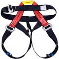 YEAHGO Safe Seat Belts for Mountaineering Tree Climbing Harness, Climbing Outdoor Training Caving Rock Climbing Rappelling Equip - Half Body Guide Harness Protect Waist Safety Harness for Women Man