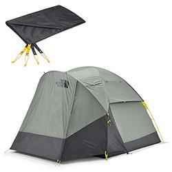 The North Face Wawona 4-Person Camping Tent and Footprint Bundle