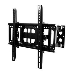 TV Wall Mounts TV Bracket for Most 26-55 Inches TVs, Full Motion TV Wall Mount with Swivel and Extend, TV Mount with Swivel Articulating Arm, Max VESA 400x400mm, US Shipping