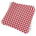 SYBLD 100 PCS Checkered Candy Basket Lining Wrapping Paper, Sandwich Burger Packaging (Color : As Shown)