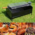 Portable Charcoal Foldable Electric Stainless Steel BBQ Flat Top Hibachi for Indoor Patio Courtyard Outdoor BBQ Cooking Picnic Camping