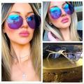 Gucci Accessories   Gorgeous New Rose Gold Gucci Aviators   Color: Gold/Purple   Size: 59-14-140
