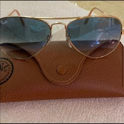 Ray-Ban Accessories   Ray Ban.....Ombr Ray Ban Sunglasses.... Light   Color: Blue/Gold   Size: Os