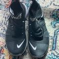 Nike Shoes | Nike Men'S Free Fly-Knit Cross-Training Shoes Sz 9 | Color: Black/Gray | Size: 9