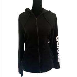 Adidas Shirts & Tops   Adidas Youth Sz L Hoodie Full Zipper   Color: Black/White   Size: Youth L
