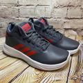 Adidas Shoes | Adidas Cf Ilation 2.0 Kids Basketball Shoes Sz 4.5 | Color: Gray/Red | Size: 4.5b