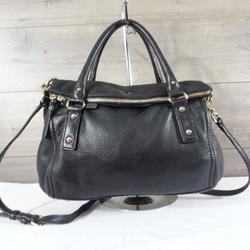 Kate Spade Bags | Kate Spade Leather Fold Over Flap Crossbody Bag | Color: Black | Size: Os