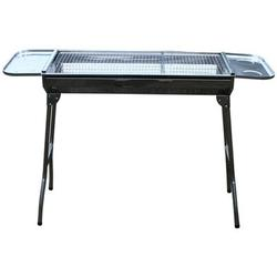 JOYGOGO Portable Barbecue Charcoal Grill in Gray, Size 27.58 H x 12.81 W x 28.76 D in   Wayfair 3193