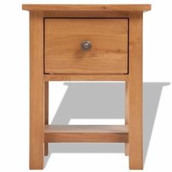 East Urban Home Sybil 1 - Drawer Nightstand in Wood in Brown, Size 18.5 H x 14.17 W x 11.81 D in | Wayfair 6781A36D8BBA4B1FABA6CD2FECBD663F