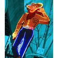 Latitude Run® Las Vegas Cowboy, Las Vegas Nevada - Wrapped Canvas Photograph PrintCanvas & Fabric in Brown, Size 24.0 H x 1.5 D in   Wayfair