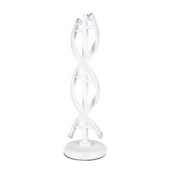 Ivy Bronx Spiral Led Table Lamp Curved Led Desk Lamp 6000K-6500K WarmLight Contemporary Minimalist Desk Lamp Bedside Nightstand Lamps For Bedroom O