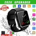 Smart Watch,Smartwatch for Android Phones,Smart Watches Touchscreen with Camera Bluetooth Watch Phone with Sim Card Slot Watch Cell Phone Compatible Android Samsung iOS Phone 12 12 Pro 11 10 Men Women (Renewed)