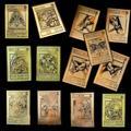 YU GI OH – carte en métal doré, carte de Collection japonaise locale, oeil d'or, Dragon blanc,