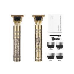 Tondeuse à cheveux électrique professionnelle 2021 USB pour hommes, rasoir pour barbier et barbe à